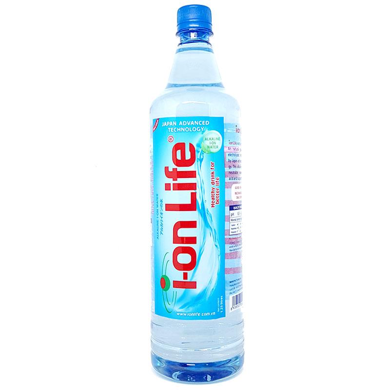 Nước Ion Life chai 1,25 lít