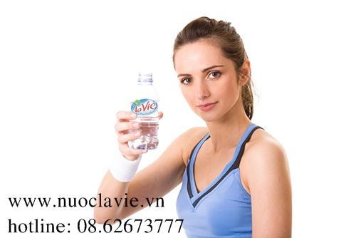 Sản phẩm nước khoáng Lavie được khuyên dùng